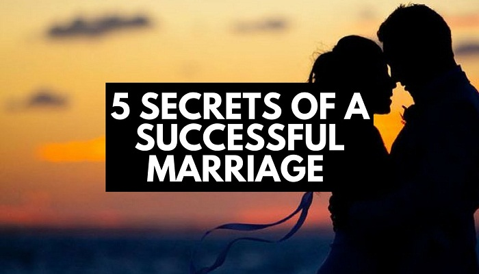 5 Secrets to a Successful Marriage